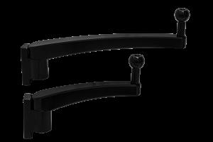 Verstellbare Spiegelarme - beide Varianten